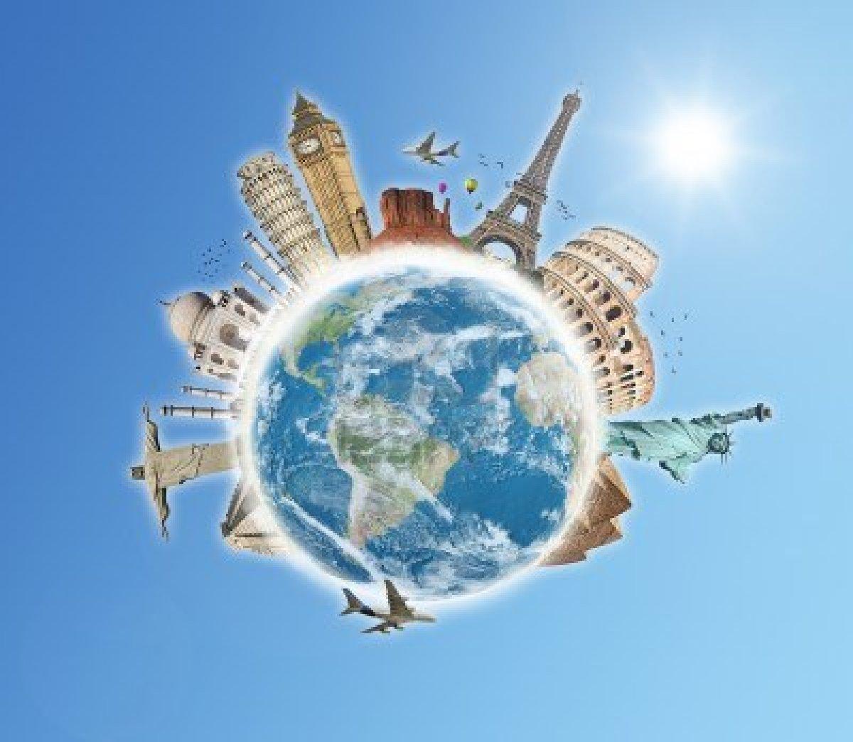 Travel Around The World Wallpaper